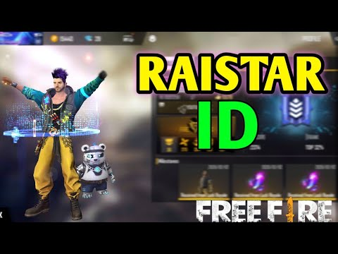 Raistar free fire id